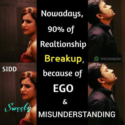 ego misunderstanding tamil memes whatsapp love status