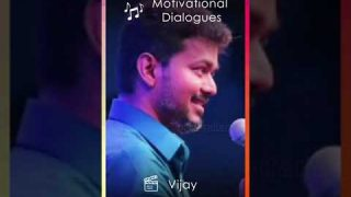 😍Vijay Mass Dialogue Motivation 💖