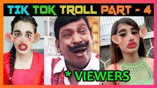 TIK TOK TAMIL TROLL PART 4 | MUSICALLY TROLL #tiktok #Musically #Dubsmash #tiktoktroll #trollmeme