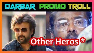 DARBAR (Tamil) – Release Promo Memes Troll | Rajinikanth | AR Murugadoss | Anirudh | Subaskaran