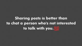 Share post is better than