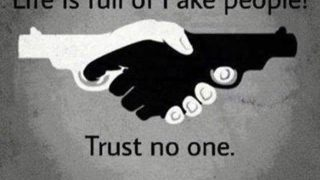 Life is full of fake people