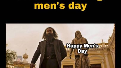 Men,s Day Celeb