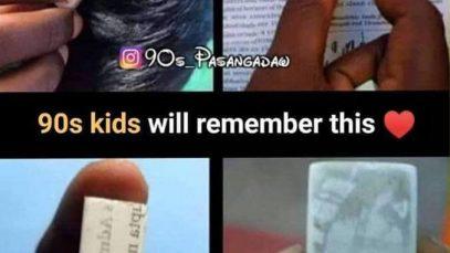 90s kids eraser