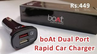 boAt Dual Port Rapid Car Charger  Unboxing & Review