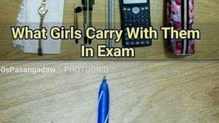exam hall boys vs girsl