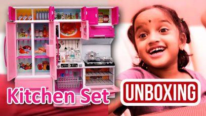 Modern Kitchen Toy Set for Kids | Barbie Kitchen Set For Girls | Kids Kitchen Set